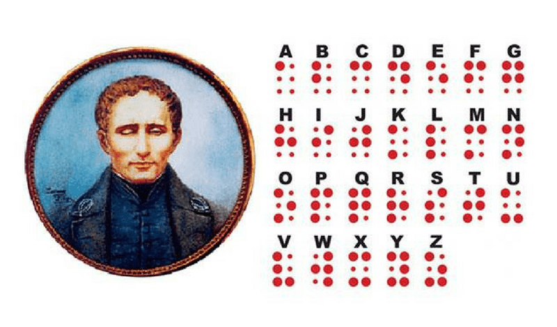 Louis Braille and the braille alphabet